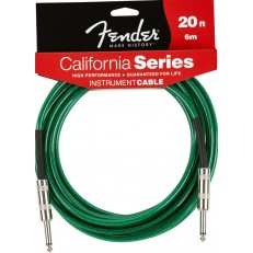 FENDER CALIFORNIA INSTRUMENT CABLE 20 SFG