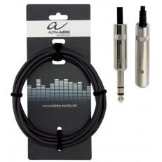 Alpha Audio 190711 XLR(п)x stereo jack (3м) 6,3 mm