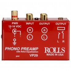 Преамп для проирывателя ROLLS VP29